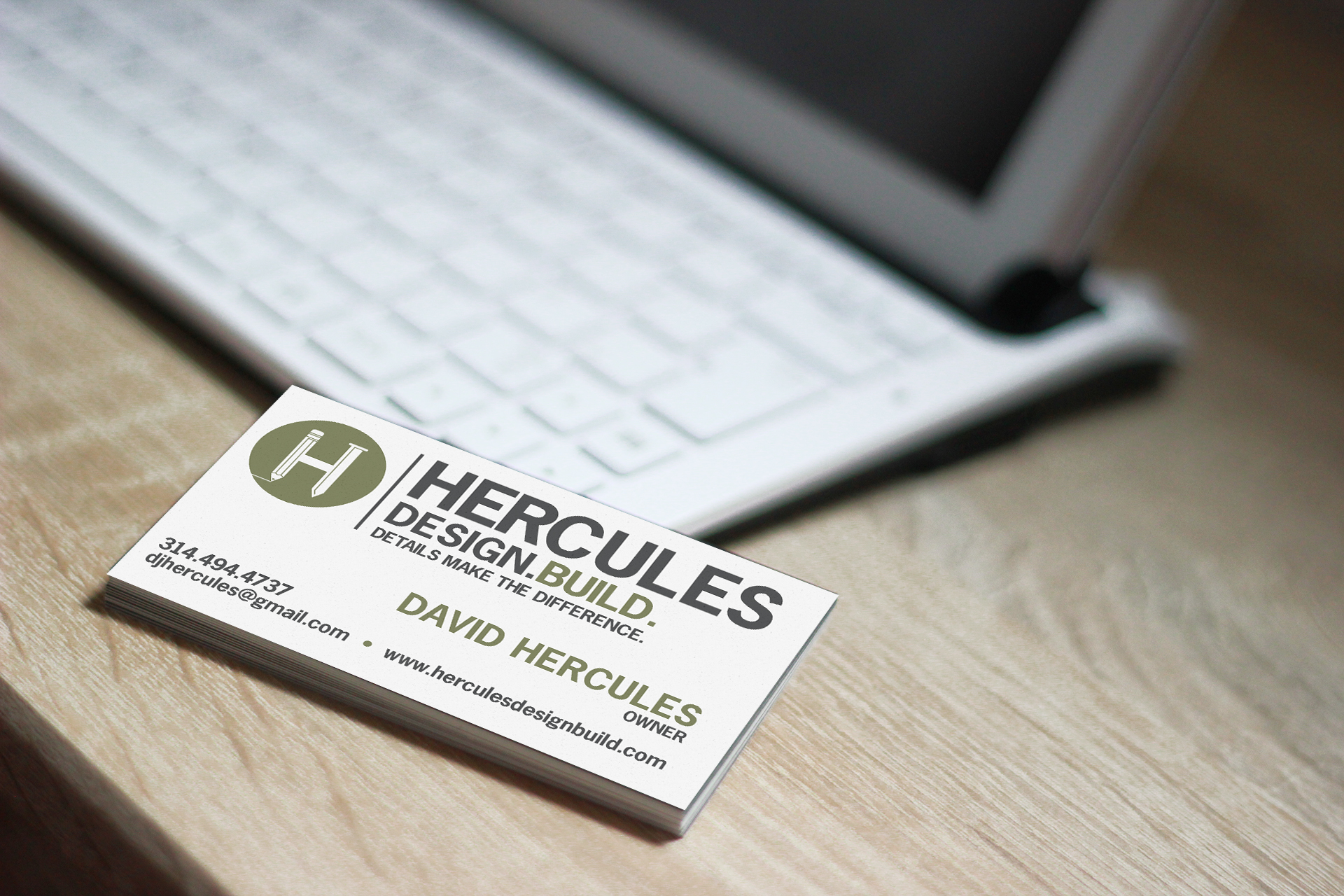 Hercules Business Card