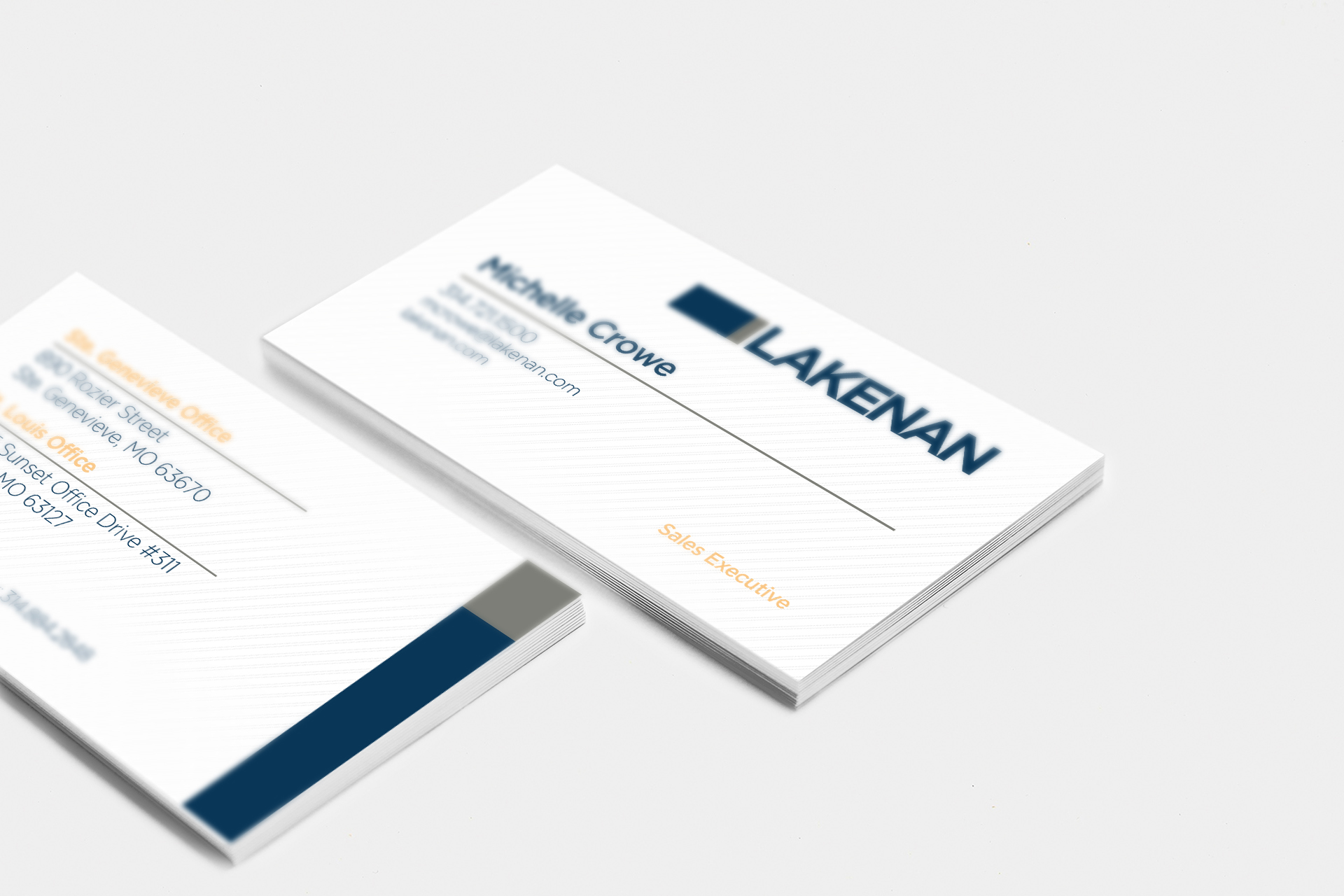 Lakenan Business Card