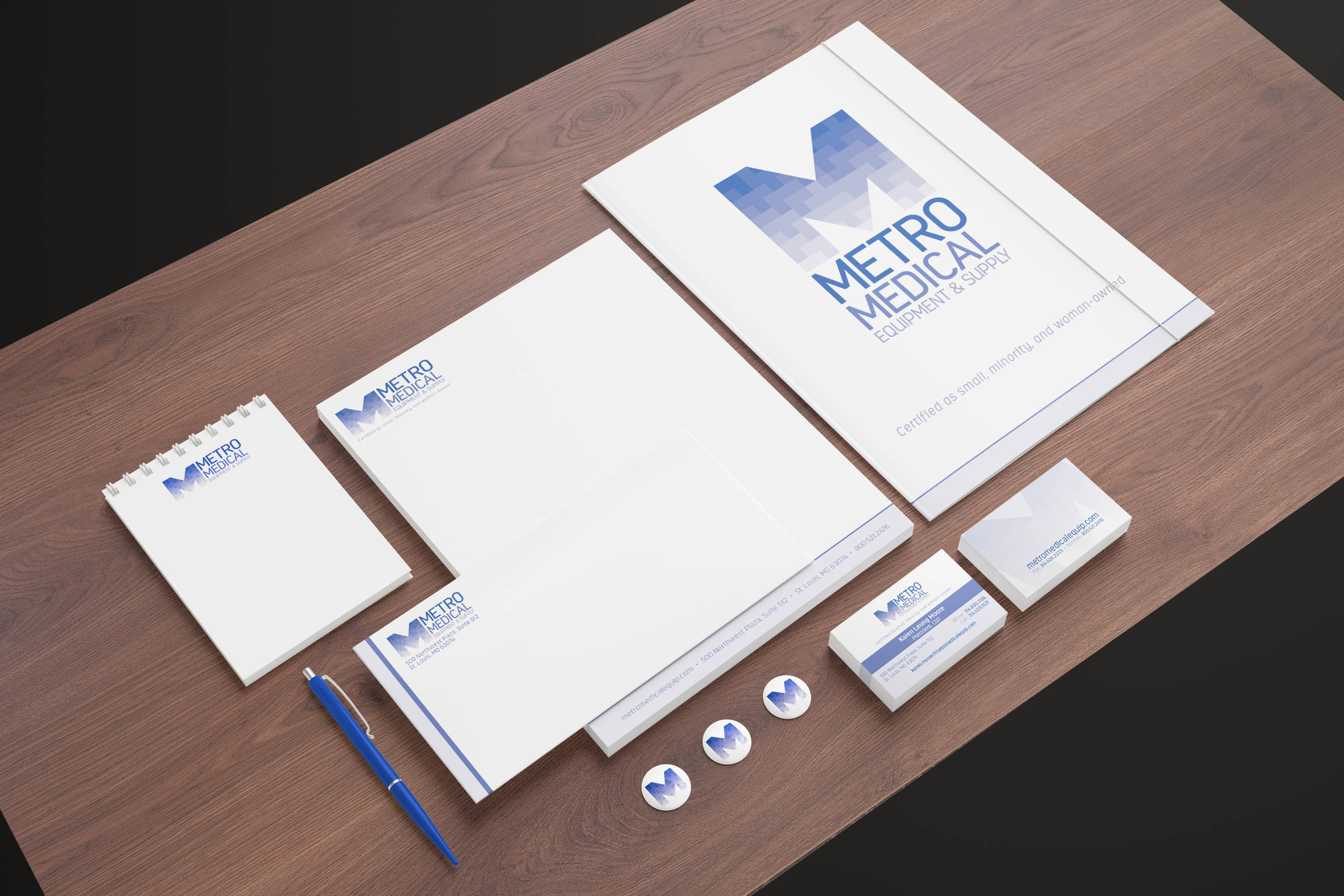 Metro Medical Stationery
