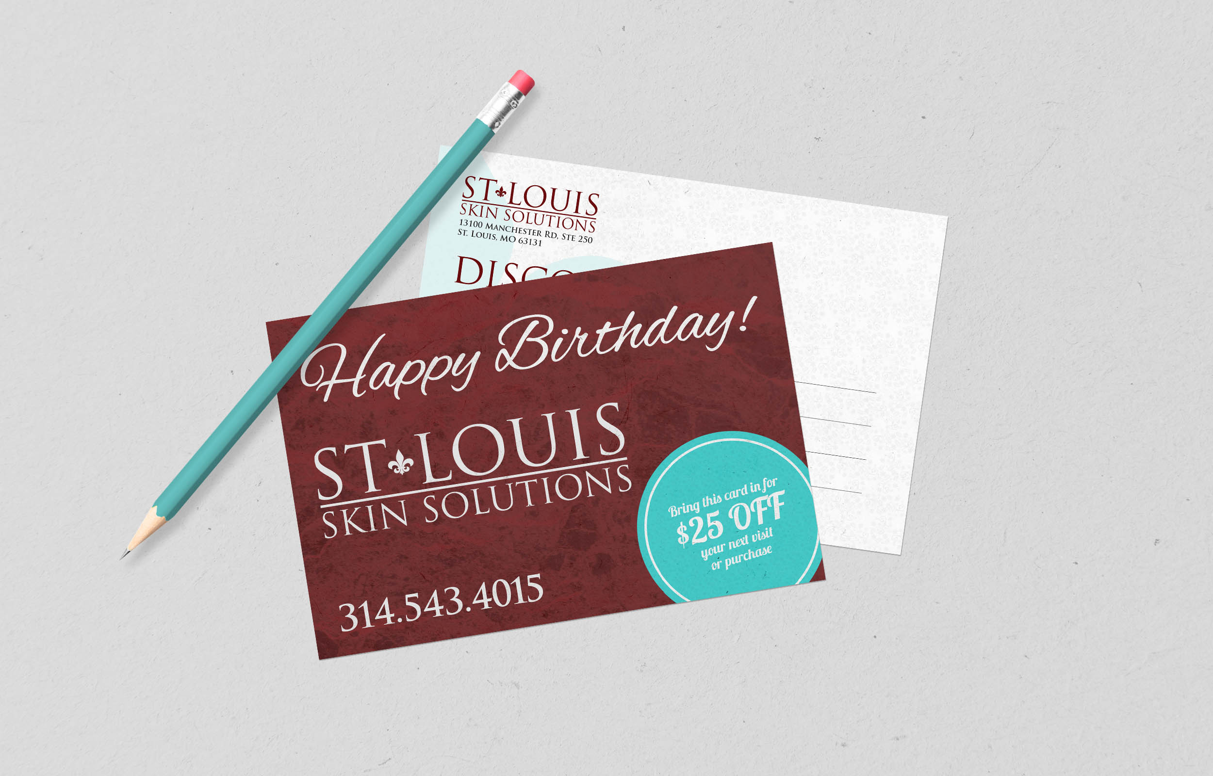 St. Louis Skin Solutions Post Card